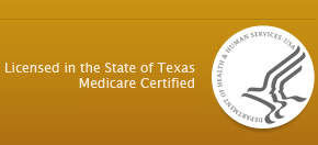Metrostar is licensed in the State of Texas, Medicare-certified, accredited by Community Health Accreditation Program (CHAP)